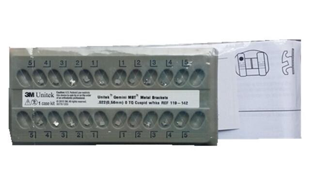 3M UNITEK Gemini MBTTM金属网底托槽 <br&gt 全新  价格:面议 <br> <img src=http://k.kqzp.cn/img/up/img/54322768ddb43.jpg