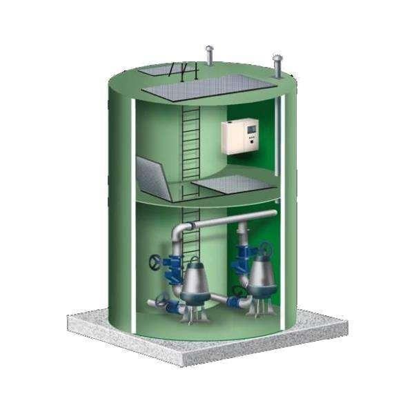 一體化預制提升泵站 <br> 全新  價格:86500 <br> <img src=http://k.kqzp.cn/img/up/img/5f0e60b8352fa.jpg